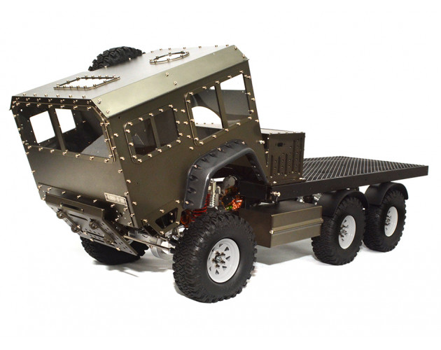 1/10 Scale 6x6 Off-Road Military Truck