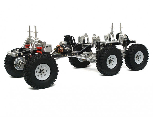 1/10 AMG 6x6 Electric Scale Truck  ARTR
