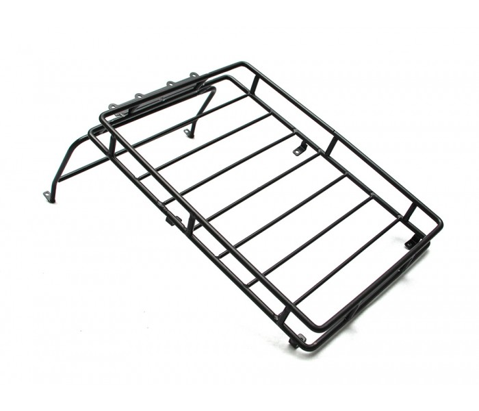 Roof Rack With Led Fog Light White For Rc4wd D90 D110