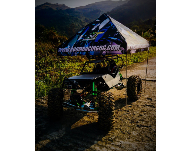 Recon G6™ 1/10 Scale EZ Up Compact Pit Tent Adjustable Canopy Crawler & Drift