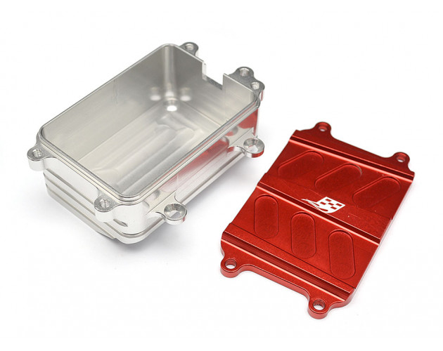 Aluminum Receiver Box - 1 Pc Red [RECON G6 The Fix Certified]