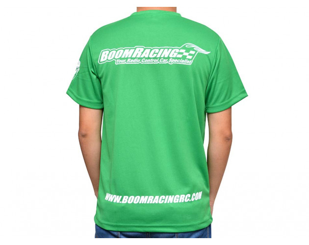 Teamwear Round Neck T-Shirt Medium (M) Green