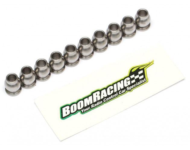 BADASS Rod Ends M4 Nylon w/ Stainless Steel Pivot Ball Assorted Set (40pcs) [RECON G6 The Fix Certified]