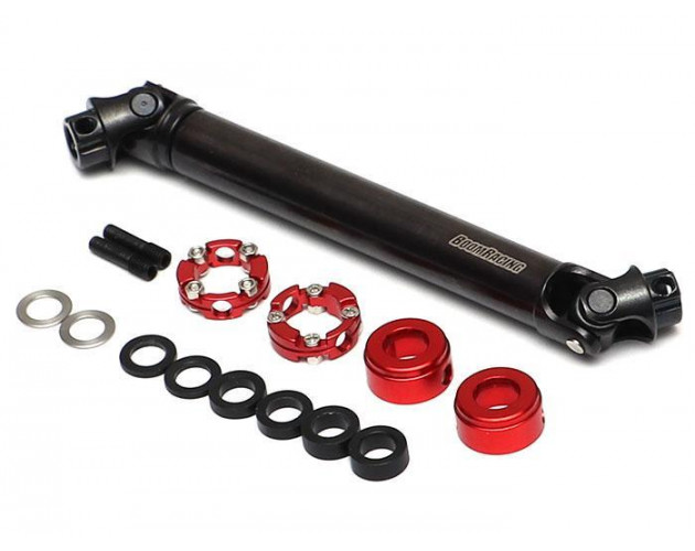 BADASS™ HD Steel Center Drive Shaft Set for Axial SCX10 II RTR / SCX10 / Wraith / Wraith 1.9 / SMT10 Front & Rear (2) [Recon G6 Certified]