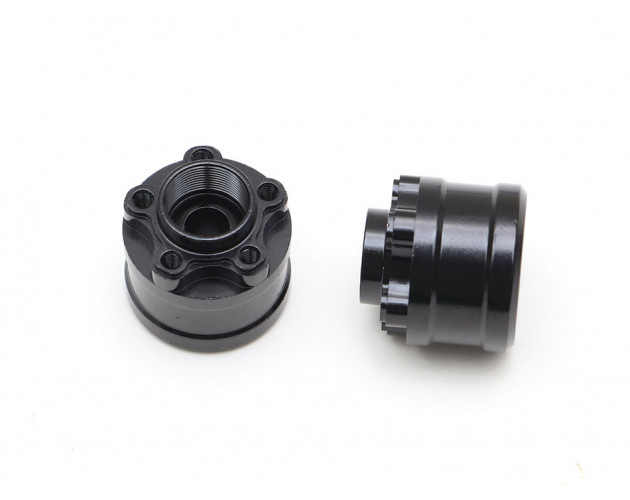 XT512 5-Lug Aluminum 12mm Wheel Hub Adapters 12mm Offset (2)