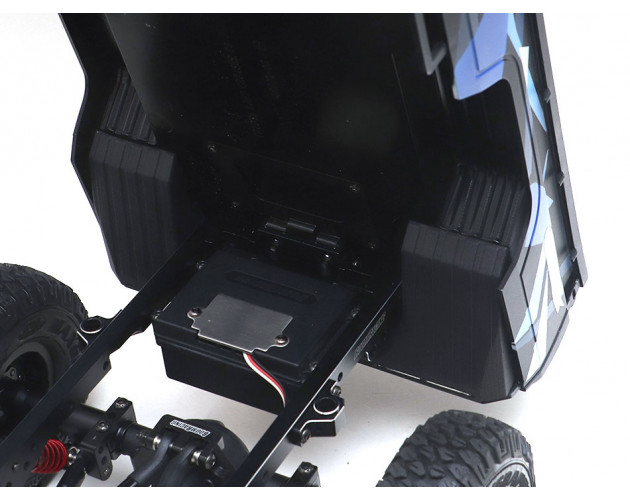 Rear Skid Plate for BRX01 LC70 Body