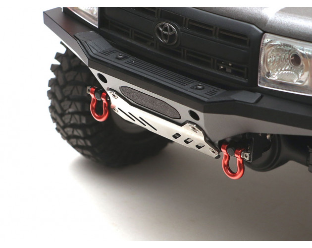 Stainless Steel Slotted Skid Plate for KUDU™ High Clearance Bumper Kit