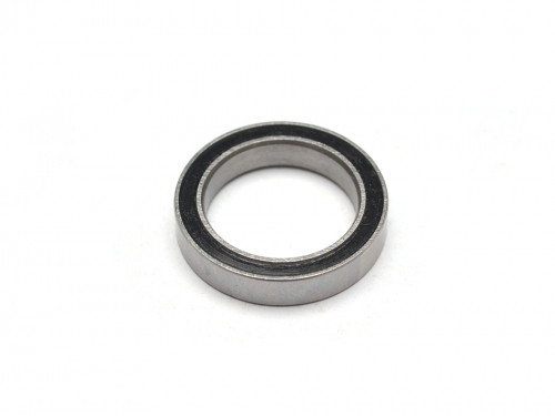 High Performance Rubber Sealed Ball Bearing 15x21x4mm 1Pc