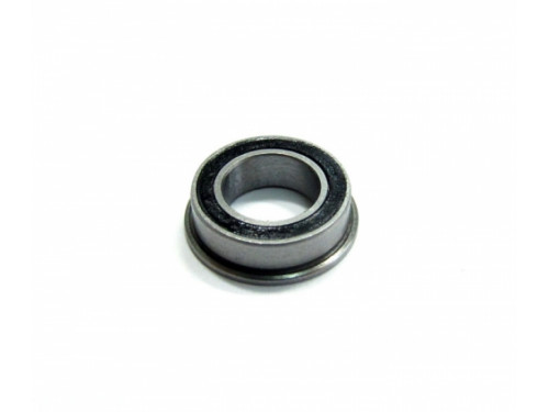 High Performance Flanged Ball Bearing Rubber Sealed 6x12x4mm 1Pc