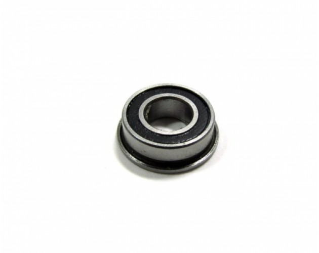 Competition Ceramic Flanged Ball Bearing Rubber Sealed 6x12x4mm 1Pc