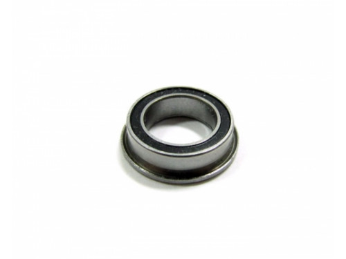 Competition Ceramic Flanged Ball Bearing Rubber Sealed 8x12x3.5mm 1Pc