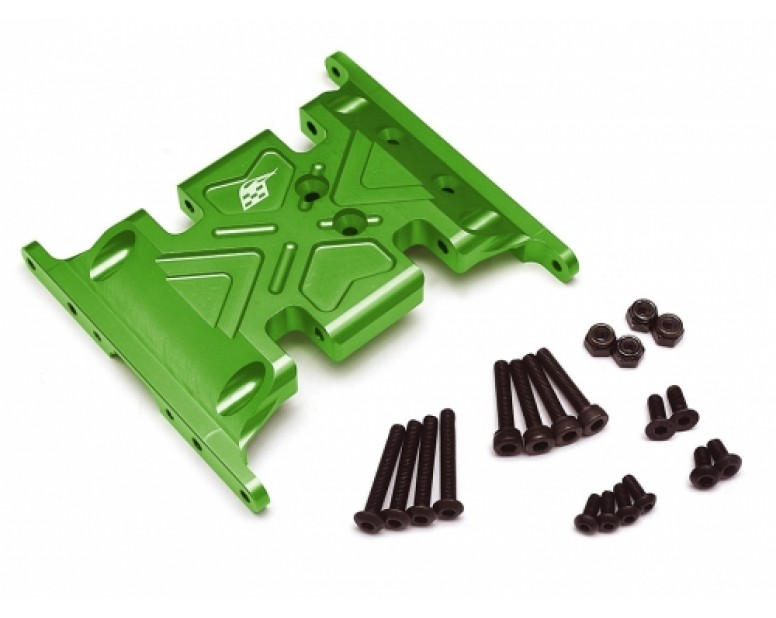 Aluminum Skid Plate - 1 pc Green [RECON G6 The Fix Certified]