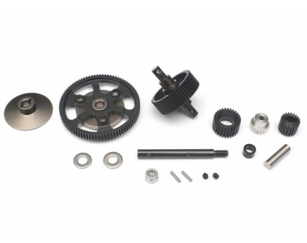 Heavy Duty Hardened Steel Gear Set for SCX10 - 1 Set