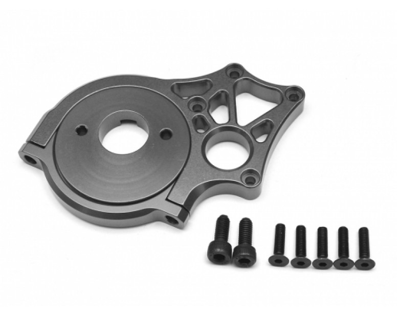 Aluminum Motor Mount - 1 Set Gun Metal