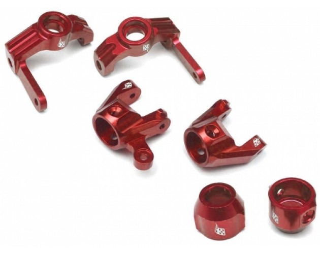Vaterra K5 Performance Combo Package With Tool Box (C-hub,Front Knuckle,Rear Hub Carrier) - 1 Set Red