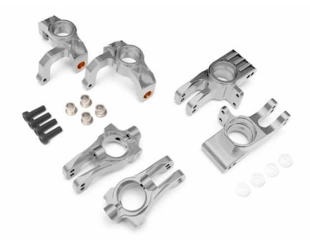 HPI Apache Performance Combo Package A (Front C-Hub,Front Steering Knuckle,Rear Hub Knuckle) Silver