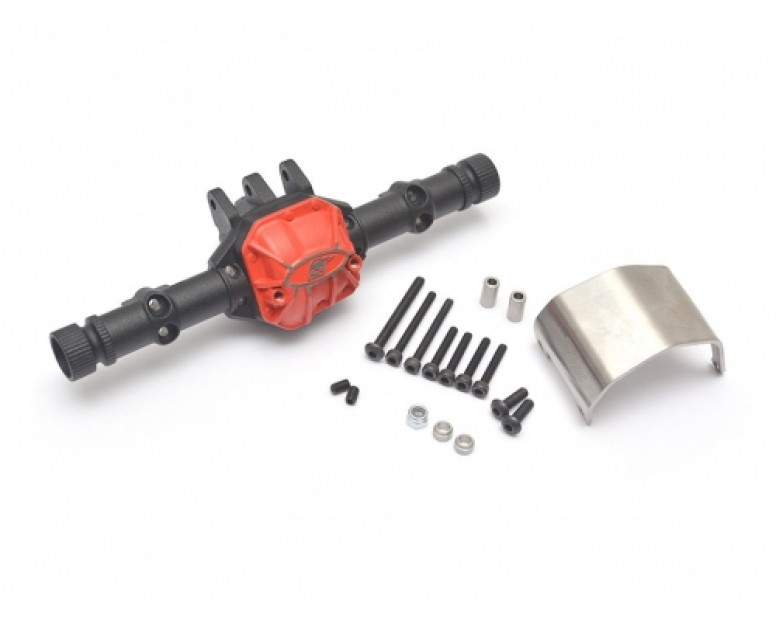AR44 PHAT™ Axle Housing W/ ARMOUR™ Skid Plate 210grams Black [RECON G6 The Fix Certified]