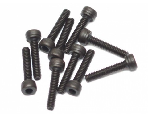 Steel M2x10mm Hex Socket Cap Head Screws (10)