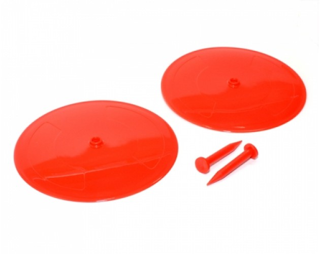 RC Drift Car Road-line Dish(2) Red