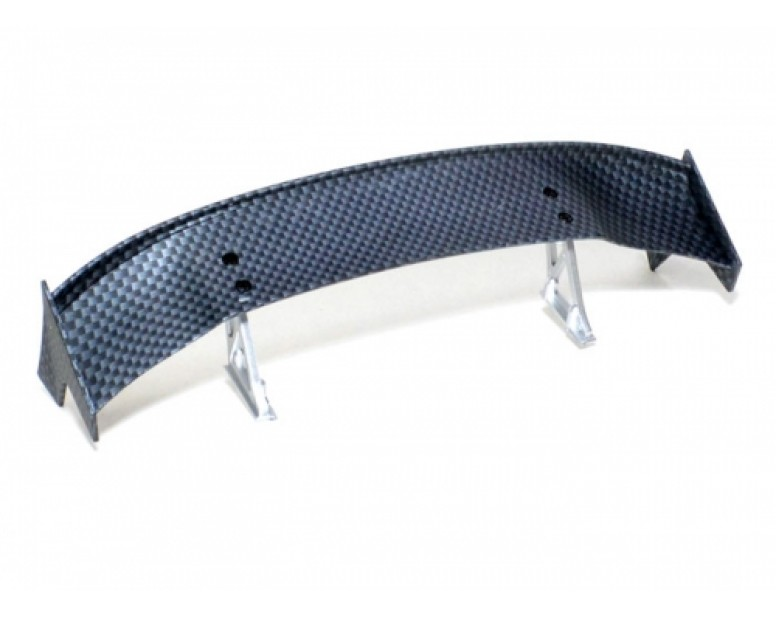 RC Toy 1/10th Scale  CF Rear Spoiler Wing W/ Stands (#00485)