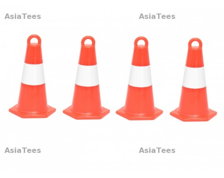 RC Scale Accessories -Traffic Cones 4pcs Red