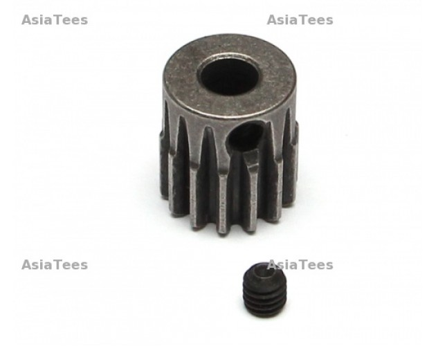 32P 14T / 5mm Steel Pinion Gear  - 1 Pc