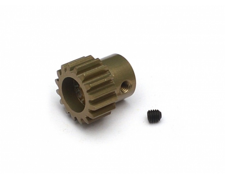 32P 16T / 3.175mm Aluminum Steel Pinion Gear - 1 Pc