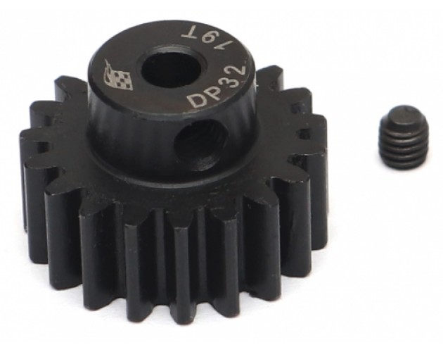 32P 19T / 3.175mm Steel Pinion Gear - 1 Pc