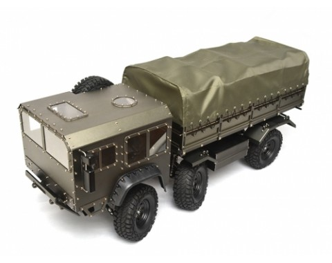Boom Racing T815 6x6 Full Metal 1/10 Off Road Military Truck