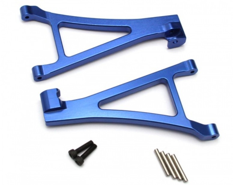 Aluminum Front Lower Arm - 1 Pair Blue