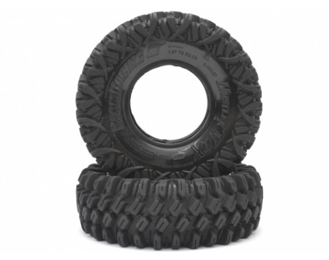 HUSTLER M/T Xtreme 1.9 Rock Crawling Tires (Snail Slime™ Compound) W/ 2-Stage Foams 4.45 X 1.57 (Soft)