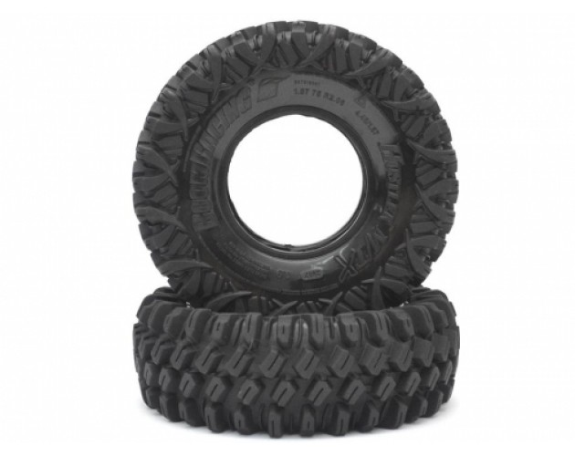 HUSTLER M/T Xtreme 1.9 Rock Crawling Tires 4.45x1.57 SNAIL SLIME™ Compound W/ 2-Stage Foams (Ultra Soft) 2pcs