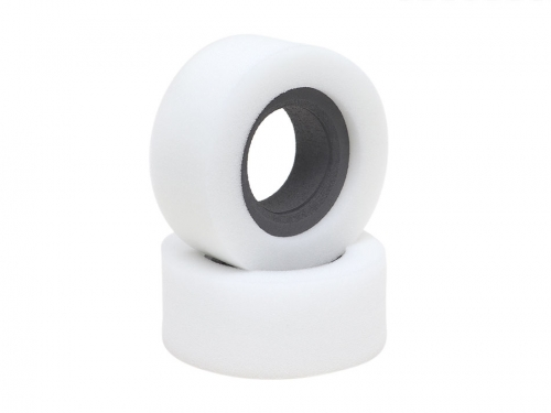 1.9 Dual 2-Stage Open (Soft) / Closed (Medium) Cell Foams Rock Crawling Inserts for 4.45in (113mm) RC Crawler Tires (2)