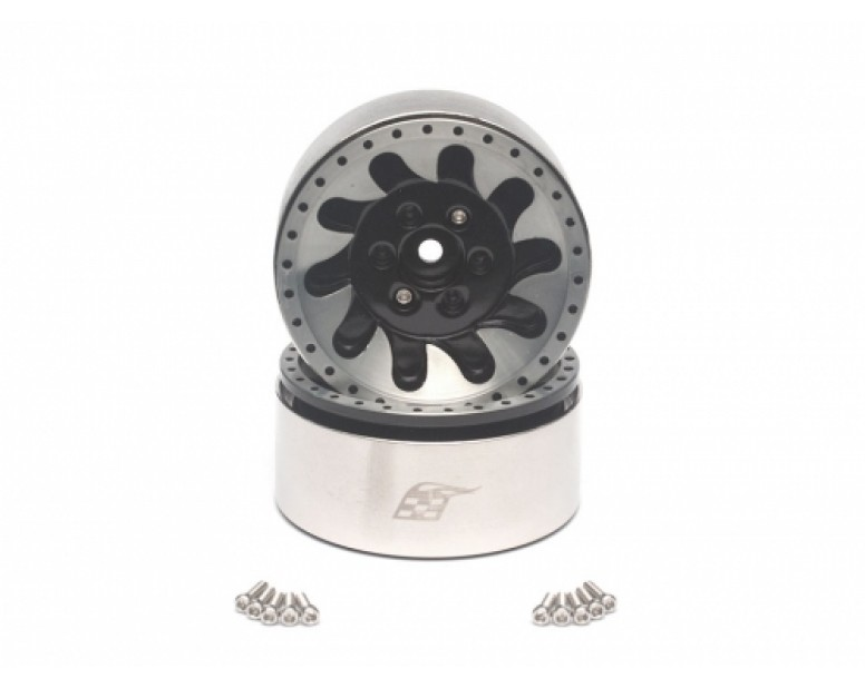 KLAW™ 1.9 High Mass Beadlock Aluminum Wheels (2)