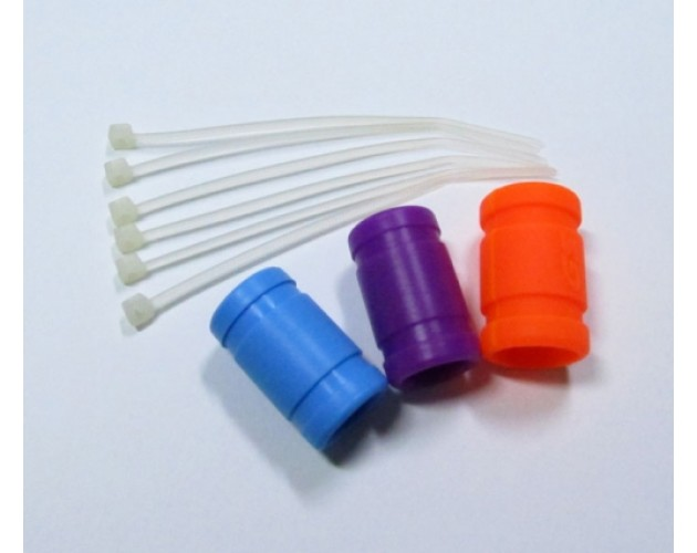 1/8 Molded Silicon Exhaust Couplers