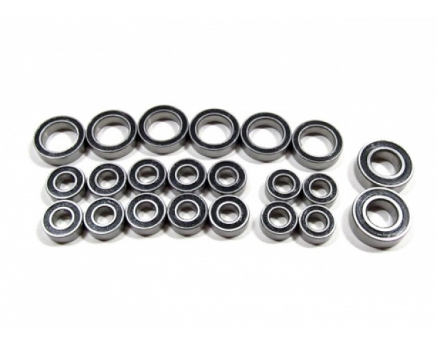 High Performance Full Ball Bearings Set Rubber Sealed (22 Total) [RECON G6 The Fix Certified]
