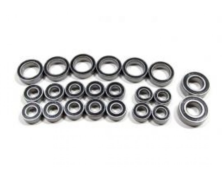 Ceramic Rubber Sealed Full Ball Bearing Set (22 Total)